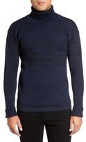 S.N.S. Herning Men's Fisherman Wool Turtleneck Sweater