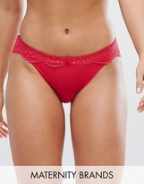 Cache Coeur Lollypop Low Rise Maternity Brief