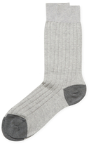 Brooks Brothers Crew Marl Socks