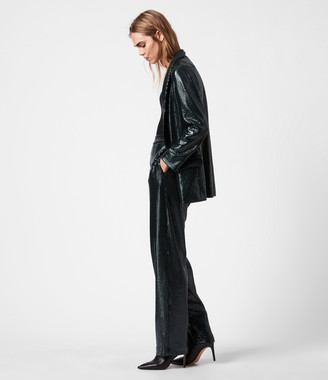 AllSaints Leanna Mid-Rise Relaxed Trousers
