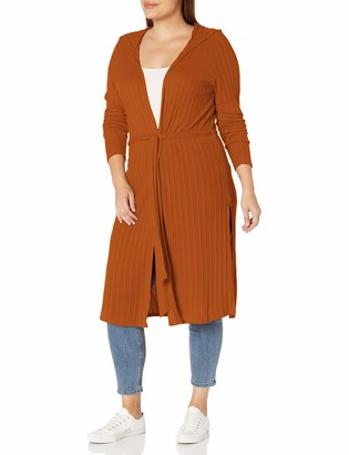 Forever 21 Women's Plus Size Belted Duster Cardigan