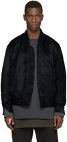 Yeezy Black Nylon Bomber Jacket