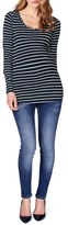 Noppies Women's 'Lely' Stripe Scoop Neck Long Sleeve Tee