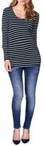 Noppies Women's 'Lely' Stripe Scoop Neck Long Sleeve Tee