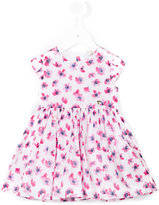 Armani Junior floral skater dress - kids - Cotton/Polyester - 12 mth