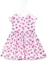 Armani Junior floral skater dress - kids - Cotton/Polyester - 18 mth