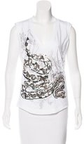 Just Cavalli Sequined Sleeveless Top w/ Tags