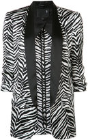 R 13 three-quarter sleeve blazer - women - Silk/Viscose - XS
