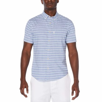 Original Penguin Zigzag Stripe Button-Down Shirt