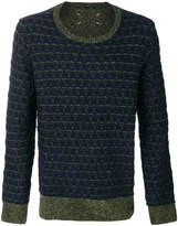 Maison Margiela jacquard knit jumper