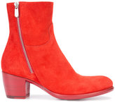 Rocco P. zipped boots - women - Leather/Suede - 35.5