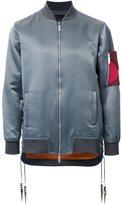 Yoshio Kubo sleeve detail bomber jacket