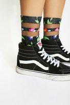 Sheer Dreamer Printed Sock by Living Royal at Free People