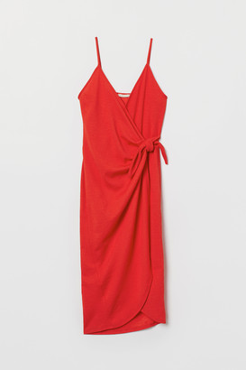 H&M Wrap dress with ties