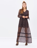Vero Moda Long Sleeve Maxi Dress