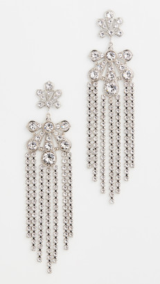 Paco Rabanne Small Palm Pendant Earrings