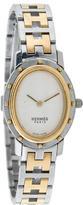 Hermes Clipper Ovale Watch
