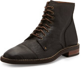 Cole Haan Canton Cap-Toe Leather Boot, Chestnut