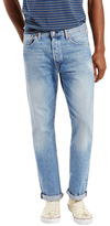 Levi's 501 Straight Fit Faded Jeans