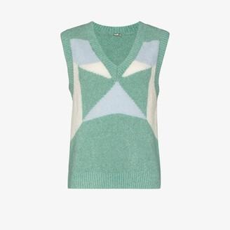 Dodo Bar Or Sylvia geometric sweater vest
