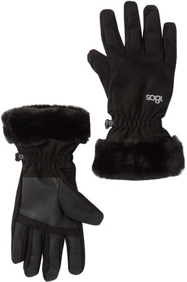 180s Moisture Wicking Faux Fur Trimmed Glove