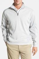 Cutter & Buck Men's Big & Tall Drytec Half Zip Pullover