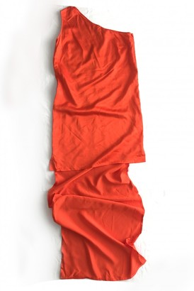 Stella McCartney Orange Viscose Dresses