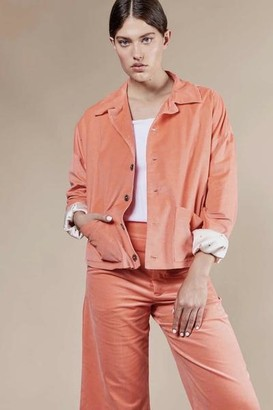 Jan 'n June - Work Jacket Kaori Cantaloupe Organic Cotton - XS