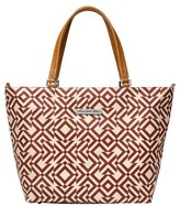 Petunia Pickle Bottom Infant Girl's 'Altogether' Glazed Canvas Tote - Red