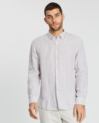 SABA Smithson Linen Yardage Shirt