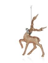 Bloomingdale's Glitter Deer Ornament - 100% Exclusive
