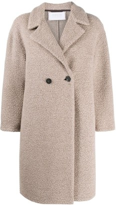Harris Wharf London Double-Breasted Mid-Length Coat