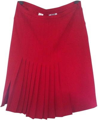 Moschino Cheap & Chic Moschino Cheap And Chic Red Skirt for Women Vintage