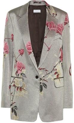Dries Van Noten Floral jacquard blazer