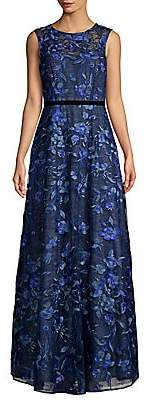Aidan Mattox Women's Sleeveless Floral Printed Dress - Size 0
