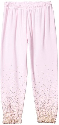 Chaser Glitter Pants Cozy Knit Sweatpants (Toddler/Little Kids) (Pinky) Girl's Casual Pants