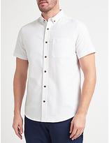 John Lewis Cotton Oxford Short Sleeve Shirt