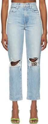 SLVRLAKE Blue Dakota Jeans