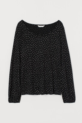 H&M MAMA Long-sleeved nursing top