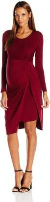 Ripe Maternity Women's Maternity Knot Shy Dress