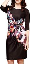 Yumi Nouvea Floral Jersey Dress, Black