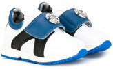 Roberto Cavalli touch strap panelled sneakers
