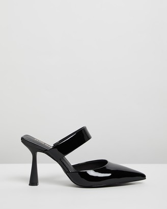 Mae Zoe Leather Mules