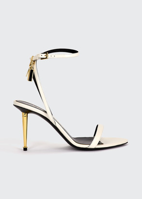 Tom Ford 85mm Lock Leather Sandals