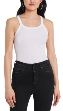 1 STATE Ribbed Cotton Tank Top