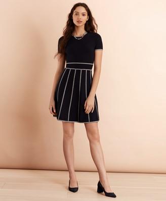 Brooks Brothers Milano-Knit Sweater Dress