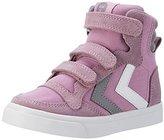 Hummel STADIL CANVAS, Girls' Hi-Top Sneakers,(28 EU)