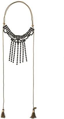 Twin-Set Tassel Embellished Necklace