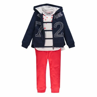 Brums Girl's Tuta 3pz:top E Pant. Felpina +t-Shirt Tracksuit