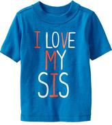 """Old Navy """"I Love My Sis"""" Tees for Baby"""